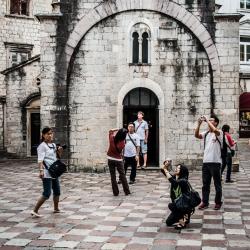 Turistartaktion i Montenegro